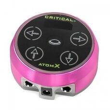 Блок живлення для тату-машинки Critical Atom X Pink