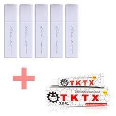 Набір пігментів для татуажу 6th Sense 5 шт + Анестезія TKTX White 39% в подарунок