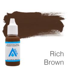 Пигмент для татуажа Aqua Rich Brown 15 мл