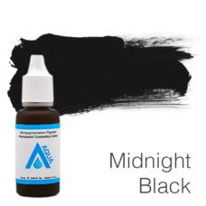 Пигмент для татуажа Aqua Midnight Black 15 мл