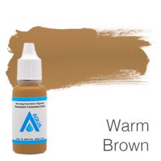 Пигмент для татуажа Aqua Warm Brown 15 мл