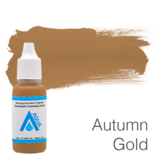 Пигмент для татуажа Aqua Autmn Gold 15 мл
