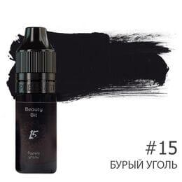 Пігмент для брів Beauty Bit від Олени Гаркіной №15 (Буре вугілля)