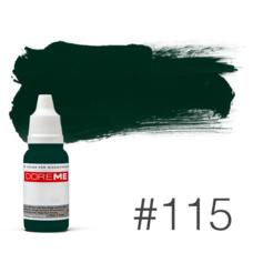 Пигмент для татуажа Doreme  LIQUID 115 Green 15 мл