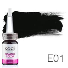 Пігмент для татуажу Kodi Professional E01 10 мл