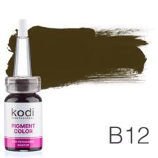Пігмент для татуажу Kodi Professional B12 10 мл