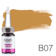 Пігмент для татуажу Kodi Professional B07 10 мл