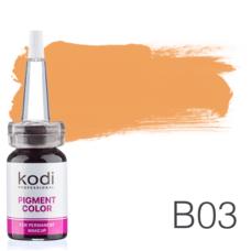 Пігмент для татуажу Kodi Professional B03 10 мл