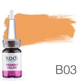 Пигмент для татуажа Kodi Professional B03 10 мл