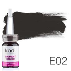 Пігмент для татуажу Kodi Professional E02 10 мл
