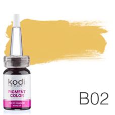 Пігмент для татуажу Kodi Professional B02 10 мл