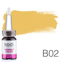 Пигмент для татуажа Kodi Professional B02 10 мл