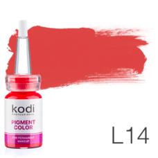 Пігмент для татуажу Kodi Professional L14 10 мл
