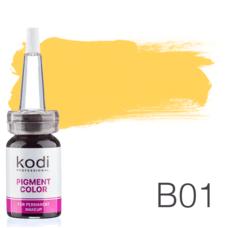 Пігмент для татуажу Kodi Professional B01 10 мл