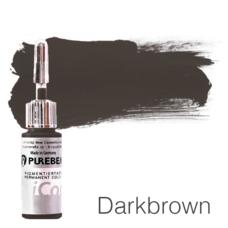 Пигмент для татуажа Purebeau Darkbrown 10 мл