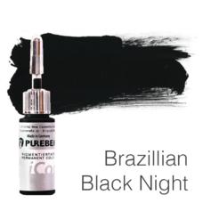 Пигмент для татуажа Purebeau Brazilliant Black Night 10 мл