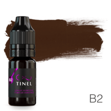 Пігмент для татуажу Tinel B2 Темний шоколад 10 мл