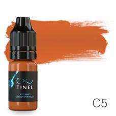 Пігмент для татуажу Tinel C5 Вогняна мідь 10 мл