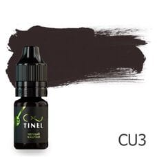 Пігмент для татуажу Tinel CU3 Чорний каштан 5 мл