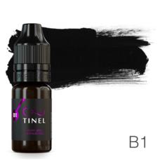 Пігмент для татуажу Tinel B1 Чорний лід 10 мл