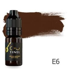 Пігмент для татуажу Tinel E6 Чорне дерево 10 мл