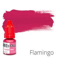 Пигмент для татуажа WizArt Organic Flamingo 5 мл